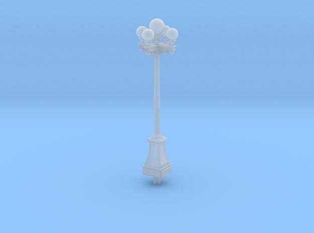 "Streetlight, Llewellyn 5 globe 'Greek Key' 4"" tall in Smooth Fine Detail Plastic"