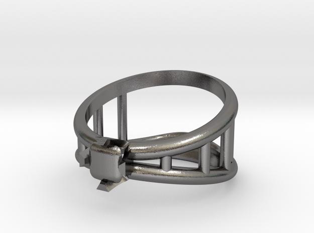 Bottle Opener Ring 3d printed
