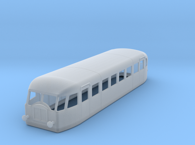 d-120fs-verney-scf2-autorail in Smooth Fine Detail Plastic