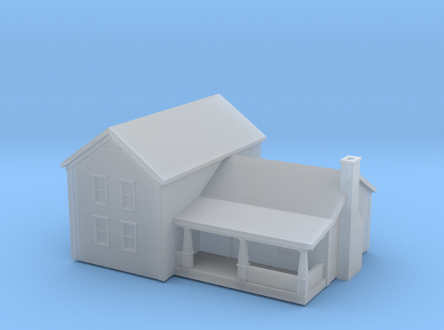 House 3 in Smoothest Fine Detail Plastic