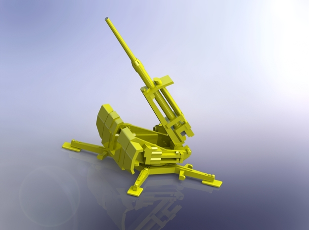 8,8cm Flak 41 firing position 1/220 in Smooth Fine Detail Plastic
