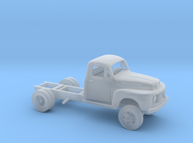 1/160 1948-50 Ford F- Serie Cab and Frame Kit in Smoothest Fine Detail Plastic