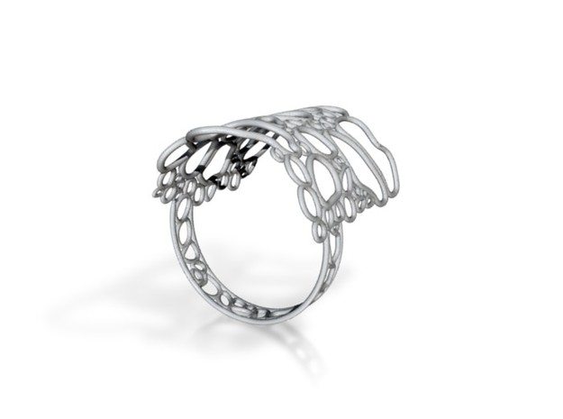 Bone ring size O 3d printed