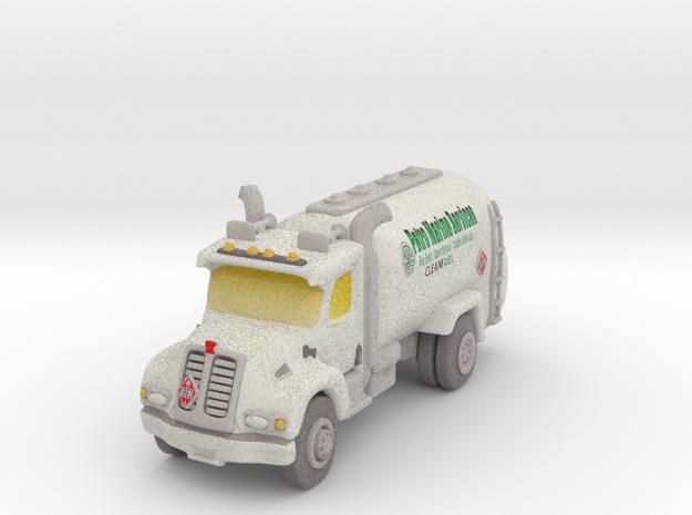Petro Truck in Full Color Sandstone