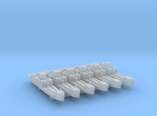 6pk US/UK LCI(L) mid WW2 1:1800 FUD in Smooth Fine Detail Plastic