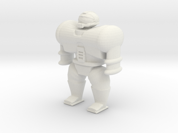 Cyborg Space Mariner in White Natural Versatile Plastic