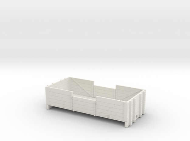 NZR 9mm/ P34 Scale L4 Body Only. in White Natural Versatile Plastic