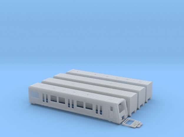 S-Bahn Berlin 484 in Smooth Fine Detail Plastic: 1:120 - TT