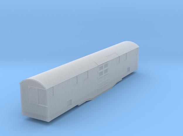 a-160fs-barnum-bailey-gsoe-elephant-car in Smooth Fine Detail Plastic