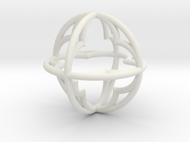 Pendant Simple 34mm 3d printed