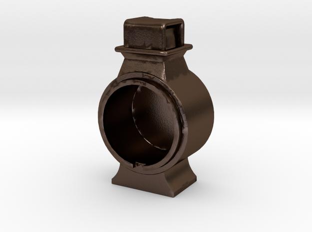 Headlight REV- 10-inch oil .625 plus 1% in Polished Bronze Steel