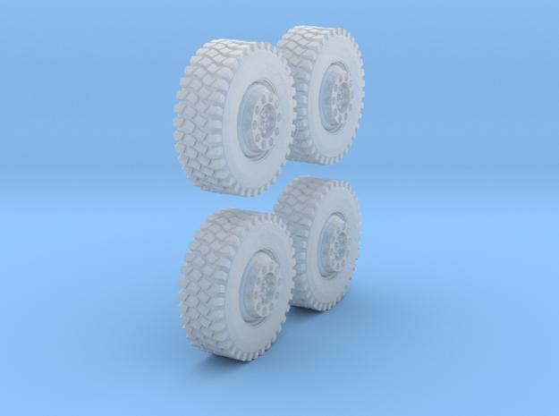 1Satz Reifen 8mm in Smoothest Fine Detail Plastic
