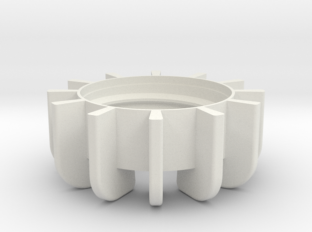 TeaC | Base (12) *All in White Natural Versatile Plastic