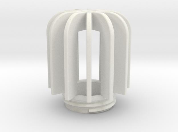 TeaC | Fins (12) *Lg in White Natural Versatile Plastic