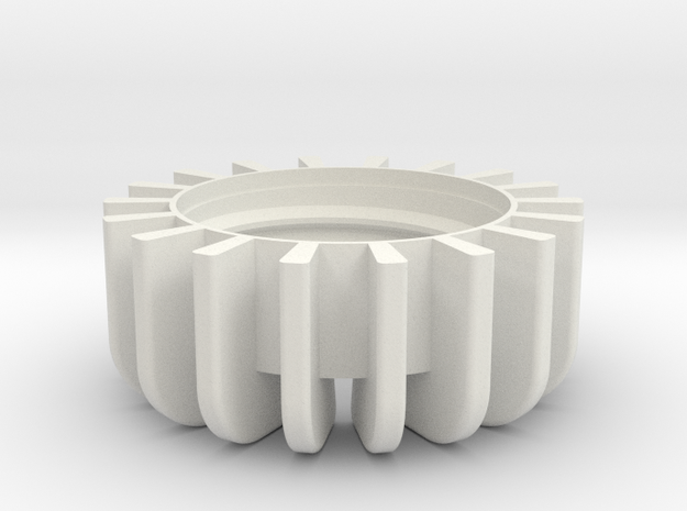 TeaC | Base (18) *All in White Natural Versatile Plastic