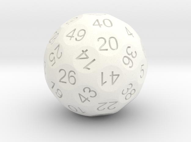 D50 Sphere Dice 3d printed