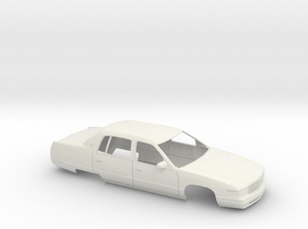1/25 1994 Cadillac DeVille Shell in White Natural Versatile Plastic