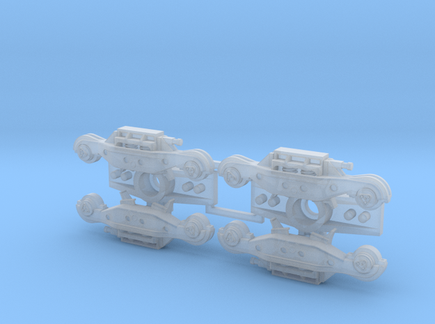 S Rockwell HS Trucks in Smooth Fine Detail Plastic