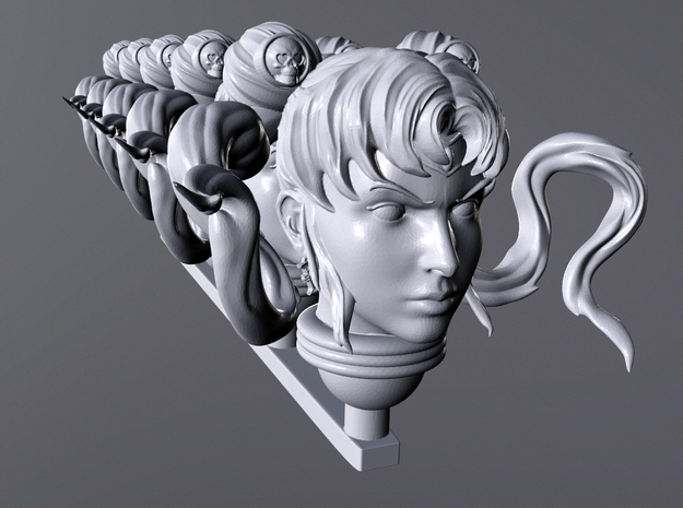 mylord soon head x5 in Smooth Fine Detail Plastic