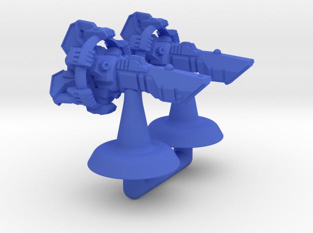 Sigyn Strike Frigate - 1:20000 in Blue Processed Versatile Plastic