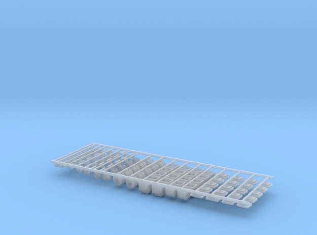 1.6bu Air DF Small Pieces (10) in Smooth Fine Detail Plastic