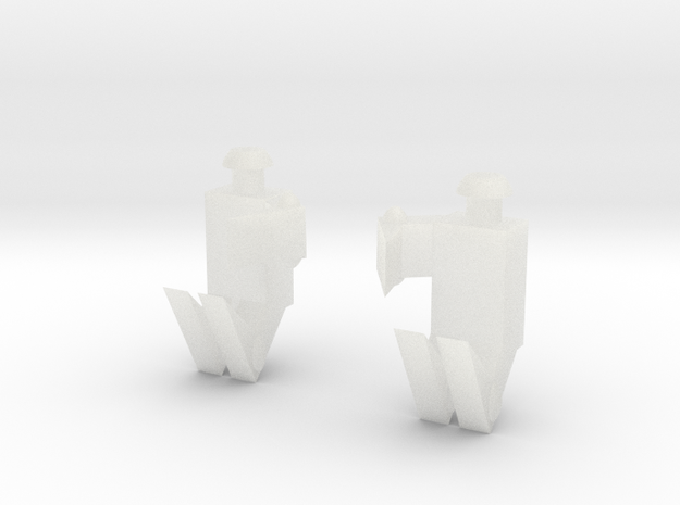 Hordak Claw Pair in Smooth Fine Detail Plastic