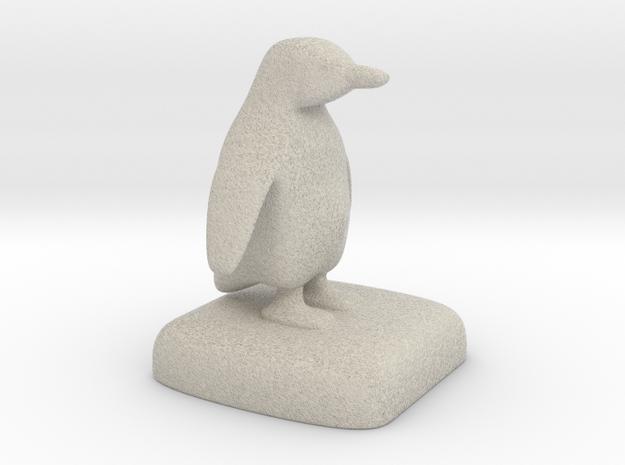 Penguin 3d printed
