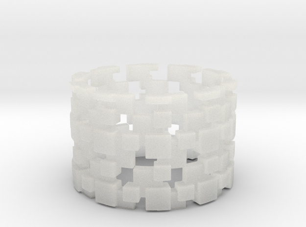 Borg Cube Ring Size 11 3d printed