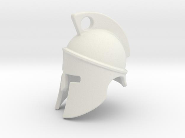 Spartan helmet 2009182250 in White Natural Versatile Plastic