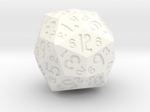 d36 as 2d6 in White Processed Versatile Plastic
