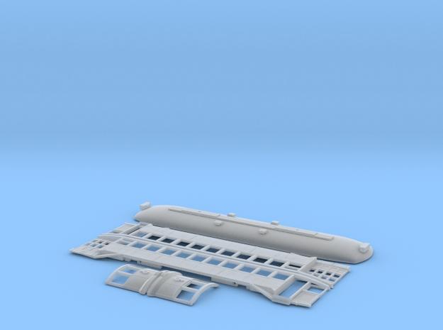 MUNI K type 40's-50's in Smooth Fine Detail Plastic