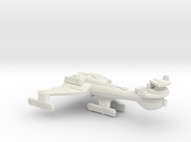 3788 Scale Klingon B8K Combined Dreadnought WEM in White Natural Versatile Plastic
