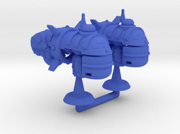 Squire Class Transport - 1:20000 in Blue Processed Versatile Plastic