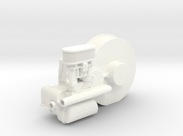 SR10004 Mk1 SRB Engine Part 4 of 6 in White Processed Versatile Plastic