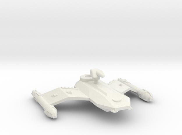 3788 Scale Borak Fast Destroyer (DDF) CVN in White Natural Versatile Plastic