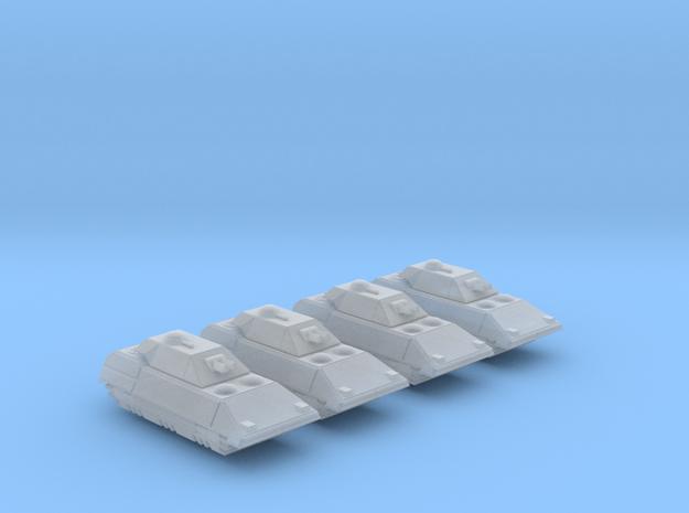 285 Scale Klingon Kraz'Nik Tanks MGL in Smooth Fine Detail Plastic