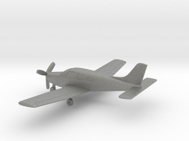 Piper PA-28R-201 Arrow III in Gray PA12: 1:100
