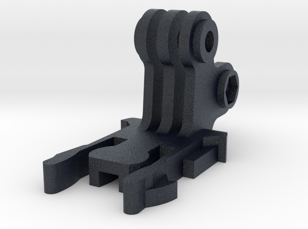 Dual Buckle Clip for GoPro Mounts in Black PA12