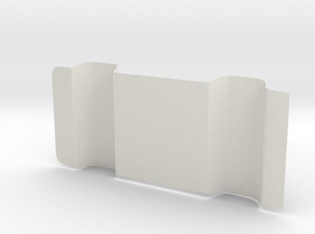 1:14 Suzuki Carry Mini Van Chassis plate in White Natural Versatile Plastic