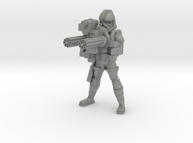 Z12 Gunner in Gray PA12