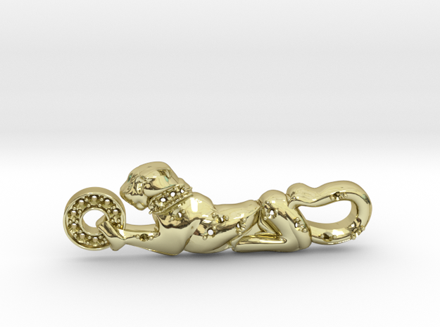 Panther Leopard Catier Jewelry  in 18K Yellow Gold