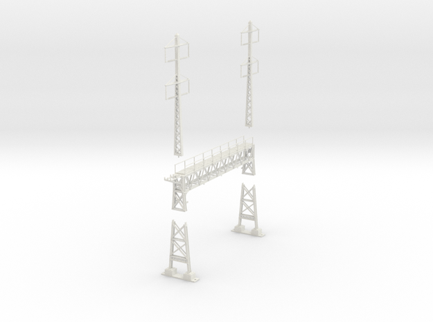 PRR signal lattice 2-2x2-2_3 track in White Natural Versatile Plastic