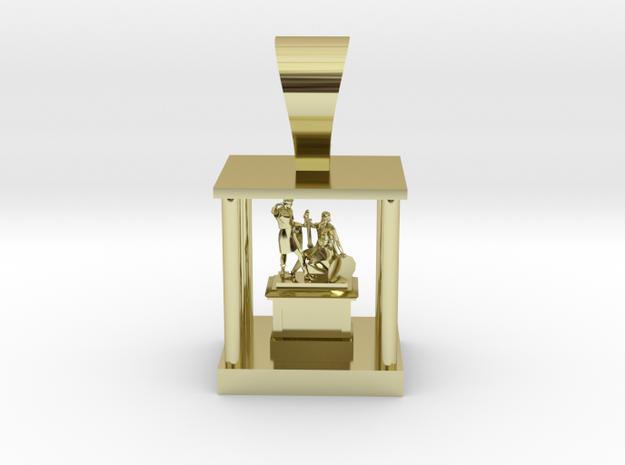 Roma Pendant  in 18K Yellow Gold