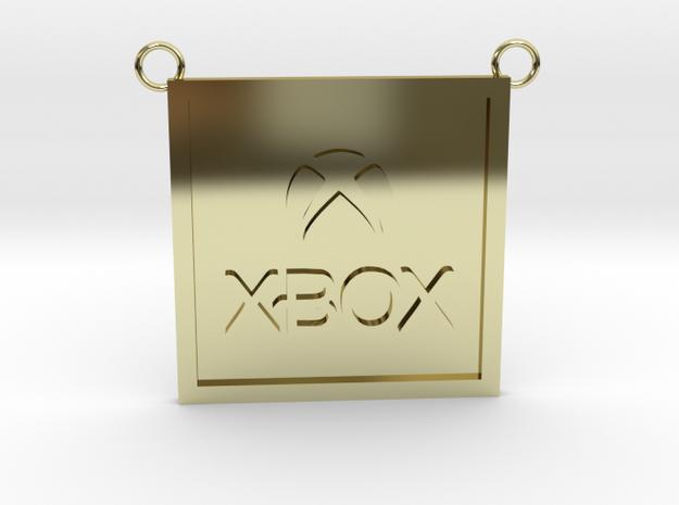 Microsoft XBOX  in 18K Yellow Gold