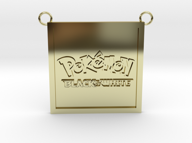 Pokemon (Contact for Customization) in 18K Yellow Gold