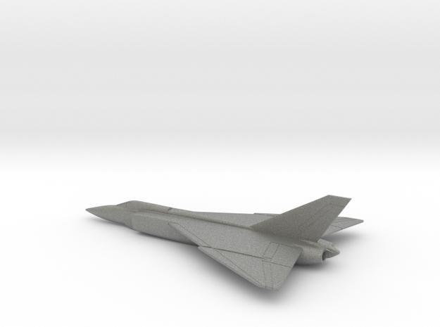 Avro Canada CF-105 (w/o landing gears) in Gray PA12: 6mm
