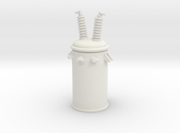 Transformer 01. Scale 1:24 in White Natural Versatile Plastic