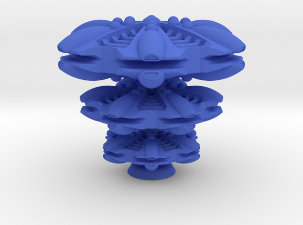 Rloontes Starbase in Blue Processed Versatile Plastic