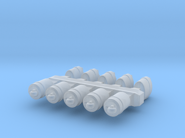 10 x Storm lighter (can + ger) in Smooth Fine Detail Plastic