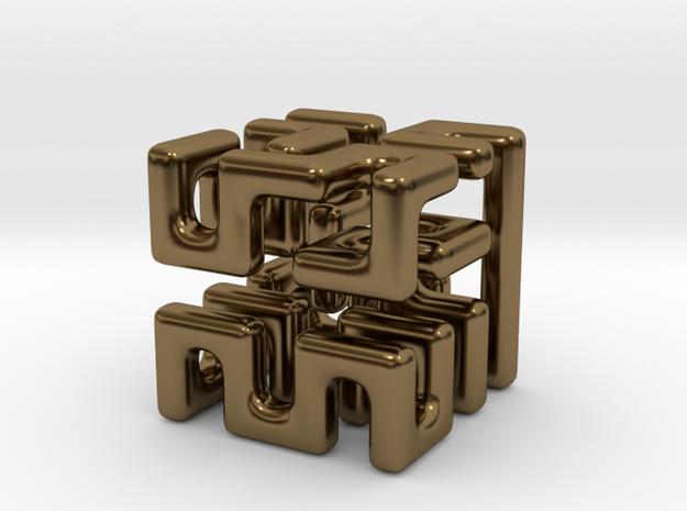 aMAZE 3d printed